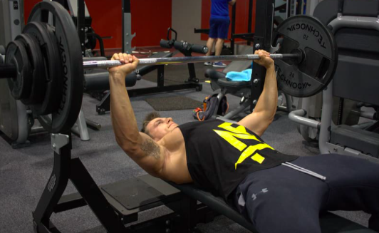 How to get your bench up fast for football players