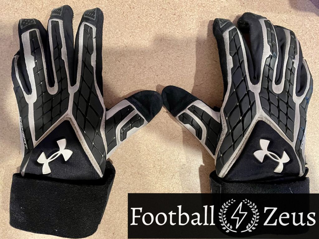 Under Armour Combat V Football Gloves Review